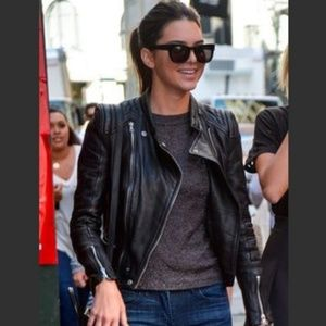 54c05b344 Women Kylie Jenner Leather Jacket on Poshmark